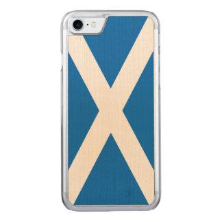 Schottland-Flagge - schottische Flaggen-Andenken Carved iPhone 8/7 Hülle