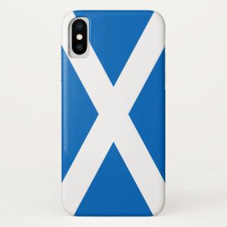 Schottland-Flagge - schottische Flaggen-Andenken iPhone X Hülle