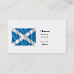 SCHOTTLAND-FLAGGE VISITENKARTE