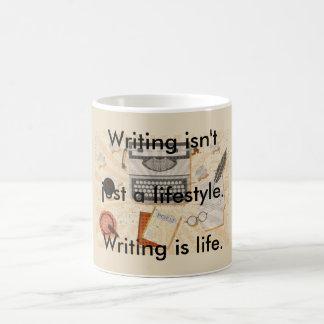 Schreiben ist Leben Tasse