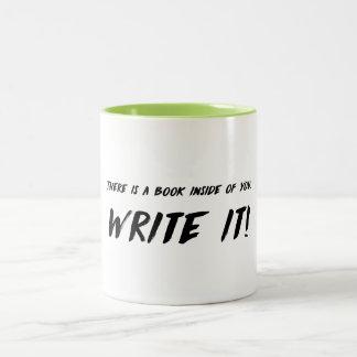 Schreiben Sie es! Tasse