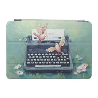 Schreibmaschine u. Vögel iPad Miniabdeckung iPad Mini Hülle