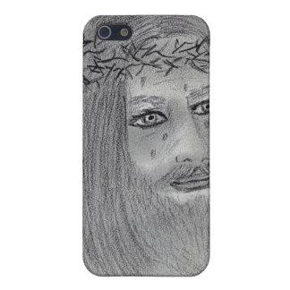 Schreiender Jesus iPhone 5 Hüllen