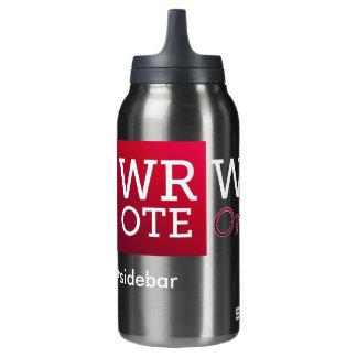 SCHRIEB Safeword heiße oder kalte Trommel Isolierte Flasche