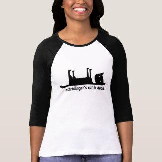 Schrödingers Katze ist tot/lebendig T Shirts
