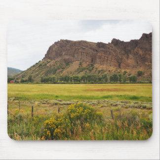 schroffe Berge in zentralem Colorado Mauspad