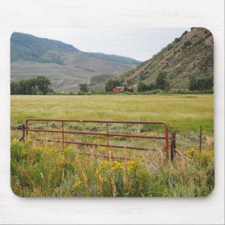 schroffe Berge in zentralem Colorado Mousepads