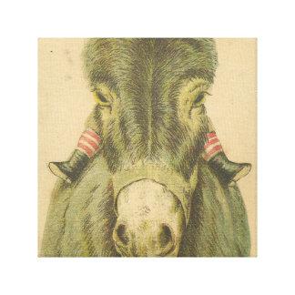 Schrullige Wandkunst, Vintage Drucke, Wanddekor Leinwand Drucke