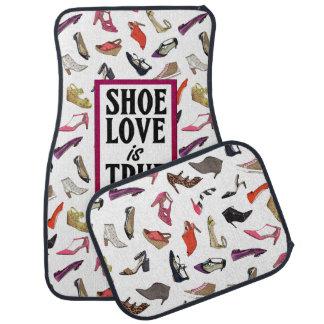 Schuh-Liebe ist wahre Liebeautomatten Automatte