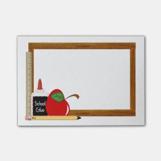 Schulbedarf Post-it Klebezettel