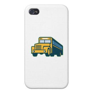 Schulbus Vintages Retro iPhone 4/4S Cover