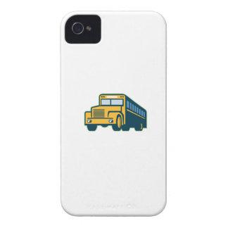 Schulbus Vintages Retro iPhone 4 Case-Mate Hülle