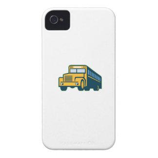Schulbus Vintages Retro iPhone 4 Hüllen