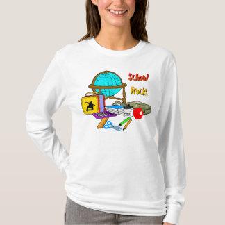 Schulfelsen - Schulbedarf T-Shirt