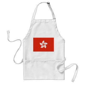 Schürze mit Flagge von Hong Kong, China