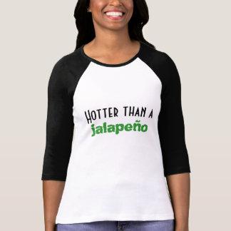 Schütteln Sie sich als ein Jalapeño 3/4 T-Shirt