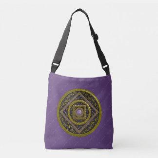 Schütze-Mandala-ganz vorbei - Druck-Tasche Tragetaschen Mit Langen Trägern