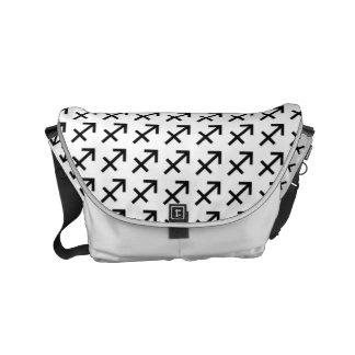 Schütze-Tierkreis-Symbol-Standard Kurier Tasche