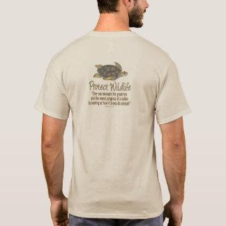 Schützen Sie die Klima Meeresschildkröten T-Shirt