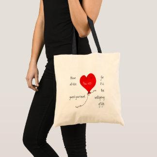 Schützen Sie Ihre Herz-christliche Tasche