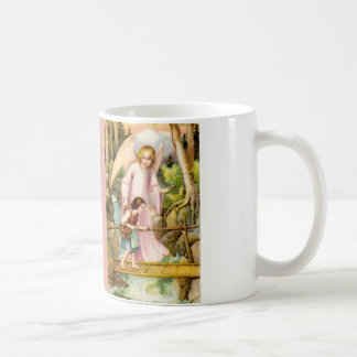 Schutzengel und Mädchen Kaffeetasse