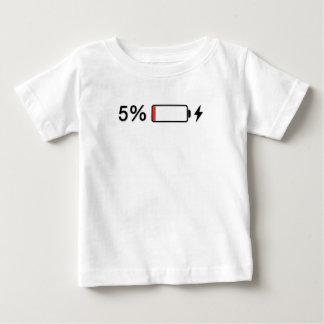 Schwache Batterien Baby T-shirt