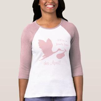 Schwangerschaft Annoucement für Mamma T-Shirt