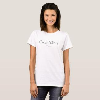 Schwangerschaft decken Hemd auf T-Shirt