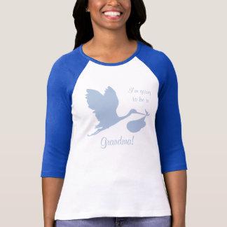 Schwangerschafts-Mitteilung für Großmutter T-Shirt