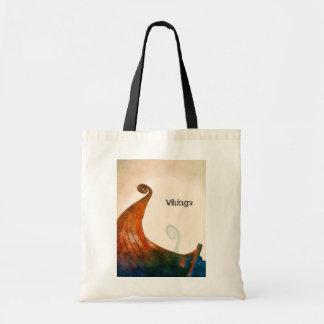 Schwanz-Taschen-Tasche Wikingers Longship Tragetasche