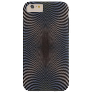 Schwarz- u. Silberoptikillusion iPhone6 Fall Tough iPhone 6 Plus Hülle