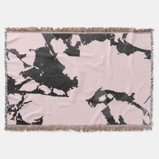 Schwarz-und Rosa-moderner Marmor Decke