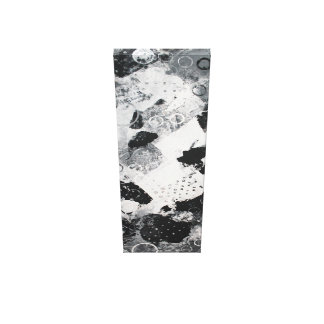 schwarz-weiß Komposition abstrakt Leinwanddruck