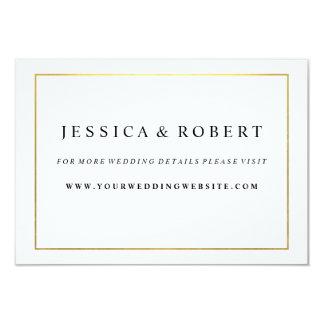 Schwarz-weiß mit 8,9 x 12,7 cm einladungskarte