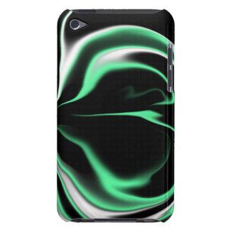 Schwarz-weiß und hellgrün Case-Mate iPod touch case