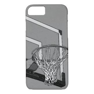 Schwarz-weißer Basketball-Band iPhone 7 Kasten iPhone 8/7 Hülle