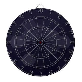 Schwarze Hexagone Dartscheibe
