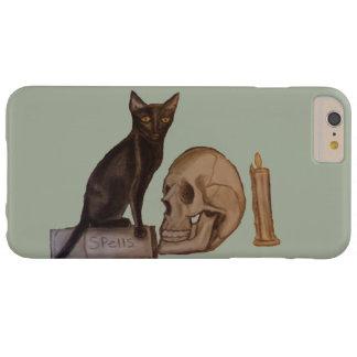Schwarze Katzen-Banne Barely There iPhone 6 Plus Hülle
