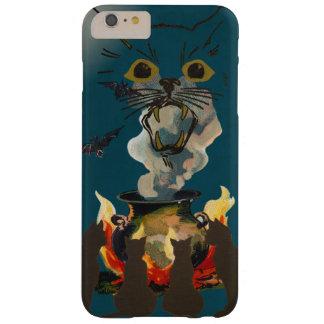 Schwarze Katzen, die Geist auf Halloween Barely There iPhone 6 Plus Hülle