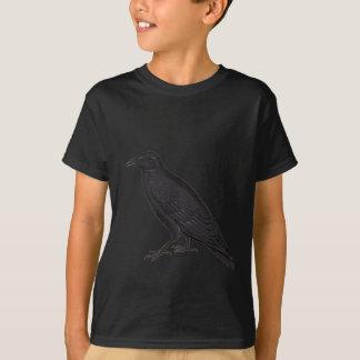 Schwarze Krähe T-Shirt