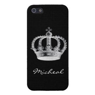 Schwarze Krone iPhone 5 Schutzhüllen
