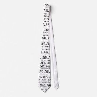 Schwarze Leben-Angelegenheit Personalisierte Krawatten