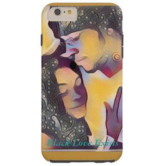 Schwarze Liebe existiert Telefon-Kasten Tough iPhone 6 Plus Hülle