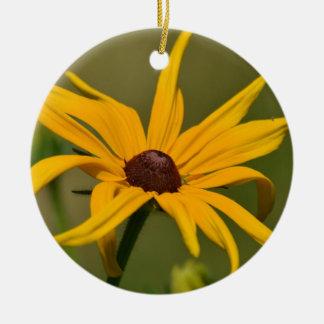 Schwarze mit Augen Susan-Einsamkeit Keramik Ornament