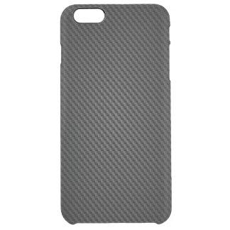 Schwarze Para-aramid Chemiefasergewebe Durchsichtige iPhone 6 Plus Hülle
