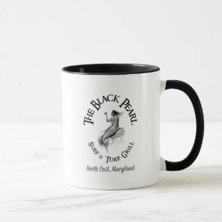 Schwarze Perlen-Tassen-Reihe Tasse