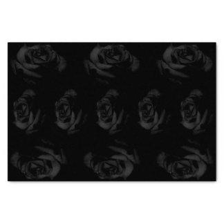 Schwarze Rosen Seidenpapier