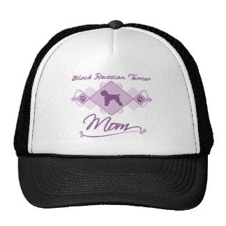 Schwarze Russe-Terrier-Mamma Mütze