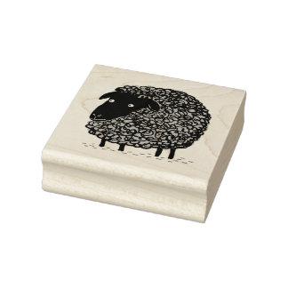 Schwarze Schafe Gummistempel
