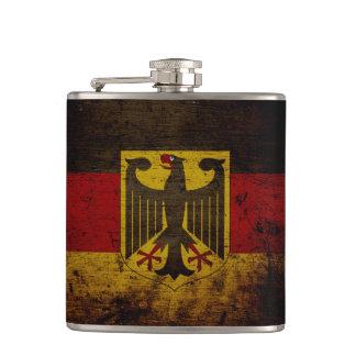 Schwarze Schmutz-Deutschland-Flagge